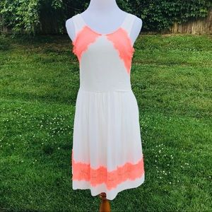 Free People Summer Dress 4 Sleeveless Knee Fitted